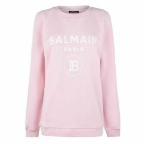 Balmain Logo Cotton Sweatshirt