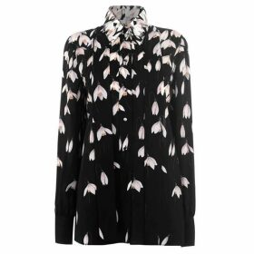 Valentino Silk Flower Blouse