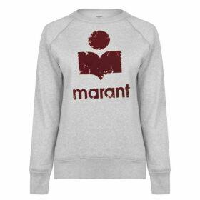 Isabel Marant Etoile Milly Logo Sweatshirt