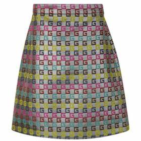 Gucci G Logo Skirt