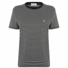 Saint Laurent Stripe T Shirt