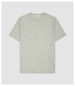 Reiss Dover - Melange T-shirt in Grey, Mens, Size XXL