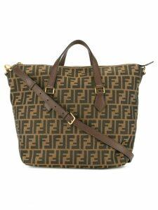Fendi Pre-Owned Zucca pattern 2way bag - Brown