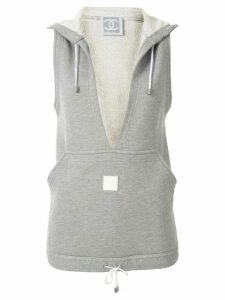 Chanel Pre-Owned 2005's sport line sleeveless tops vest - Grey