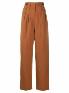 Jean Paul Gaultier Pre-Owned 1990s high-waisted trousers - ORANGE