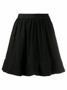 Comme Des Garçons Pre-Owned 1990s' A-line skirt - Black
