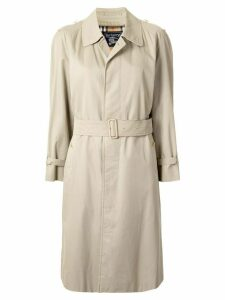 Burberry Pre-Owned single-breasted trench coat - Brown