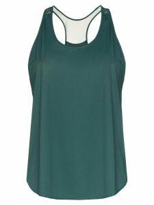 Nimble Activewear mesh back tank top - Green