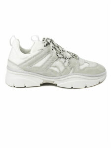 Isabel Marant White Kindsay Lace-up Sneakers