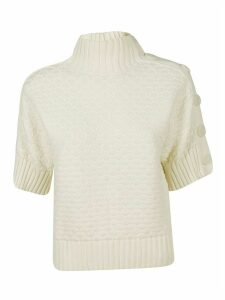 See by Chloé Button Detail Top