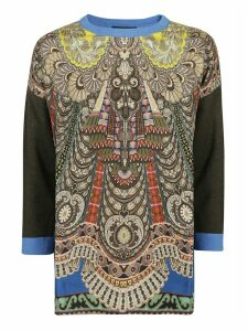 Etro Contrast Sleeve Sweater