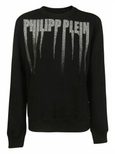 Philipp Plein Crystal Embellished Sweatshirt