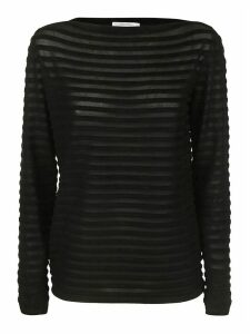 Max Mara Ribbed Knit Sweater