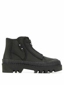 Proenza Schouler zip-up ankle boots - Black