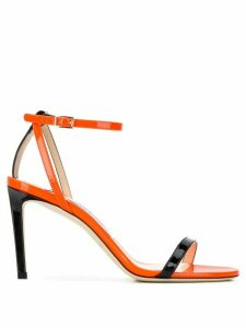 Jimmy Choo Minny 85mm sandals - ORANGE