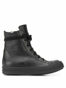 Rick Owens Tecuatl high-top sneakers - Black
