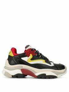 Ash Addict colour-block sneakers - Black