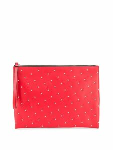 Marni studded clutch - Red