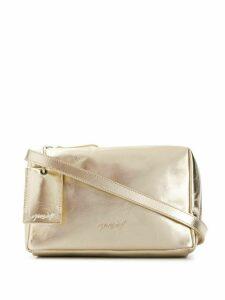Marsèll soft box metallic cross-body bag - GOLD
