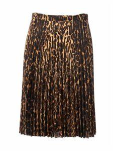 Burberry Silk Rersby Fantasy Skirt