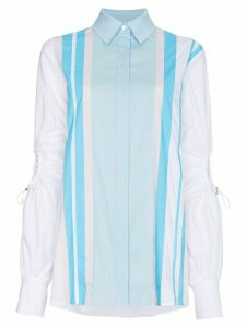 Peter Pilotto Cotton shirt with exposed elbows - Blue