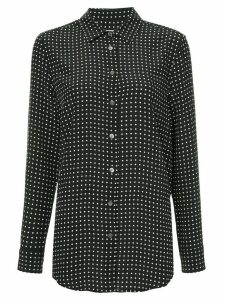 Equipment Essential polka dot shirt - Black