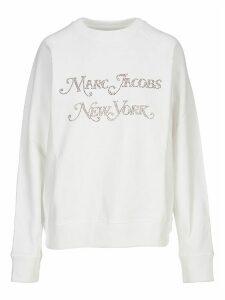 Marc Jacobs Rhinestones Logo Sweatshirt