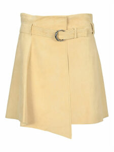 Chloe Suede Leather Mini Skirt