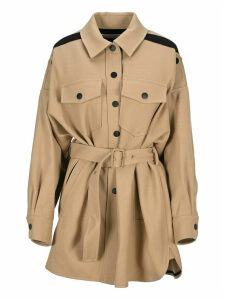 See By Chloe Belted Single Breasted Coat