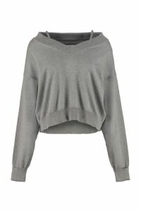 Maison Margiela Newbasic Off-shoulders Pullover