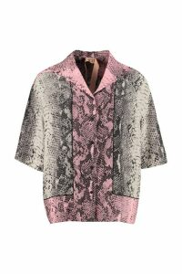 N.21 Printed Silk Shirt