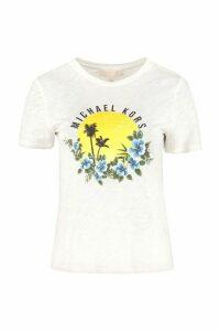 MICHAEL Michael Kors Printed Short Sleeves T-shirt