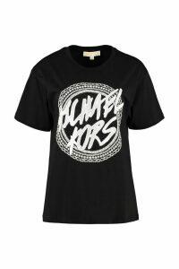 MICHAEL Michael Kors Printed Cotton T-shirt