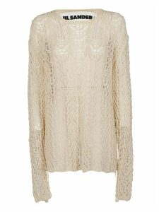 Jil Sander Sheer Knitted Jumper