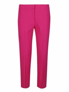 Alexander McQueen Straight Cropped Trousers