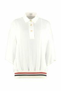 Loewe Silk Polo Shirt