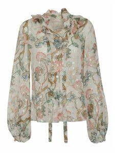 Chloé Floral Printed Shirt