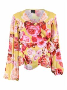 Pinko Flower Print Blouse