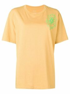 Julien David round neck T-shirt - Yellow