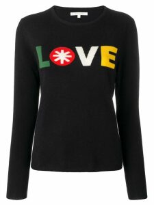 Chinti and Parker 'Love' jumper - Blue