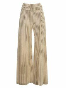 Erika Cavallini Steve Pants Wide Leg W/stripes