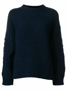 Juun.J oversized knit jumper - Blue
