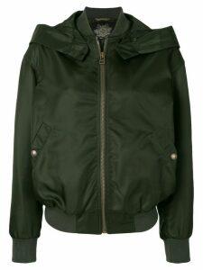 Mr & Mrs Italy hooded bomber jacket - Green