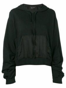 Andrea Ya'aqov oversized hoodie - Black