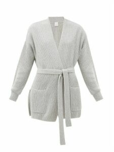 Max Mara Leisure - Cantore Cardigan - Womens - Light Grey