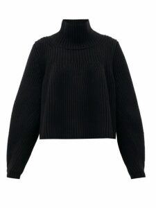 Khaite - Denney Roll-neck Cashmere Sweater - Womens - Black