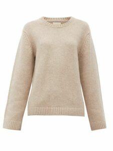 Khaite - Francesca Cashmere Sweater - Womens - Beige