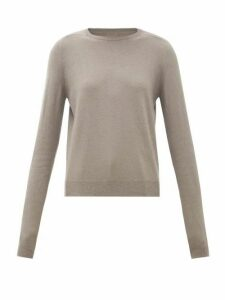 Rick Owens - Level Boiled-cashmere Sweater - Womens - Grey