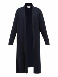 Gabriela Hearst - Llorona Ribbed-cashmere Cardigan - Womens - Dark Navy