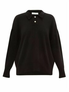 Ryan Roche - Pearlescent-button Cashmere Sweater - Womens - Black